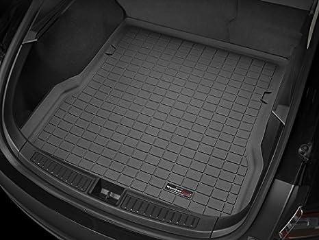 2012-2016 Rear Cargo Well WeatherTech Cargo Liner for Tesla Model S Black