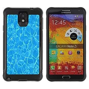 Pulsar iFace Series Tpu silicona Carcasa Funda Case para SAMSUNG Galaxy Note 3 III / N9000 / N9005 , Été Mer réfléchissant