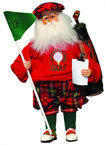 Collectible Golf (Santa's Workshop 6607 Rather Be Playing Golf Santa Figurine, 15