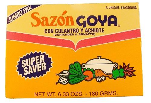 Goya Sazon with Corianto and Annatto - 6.33 oz. box, 15 per case