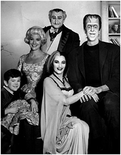 The Munsters Cast Photograph