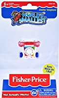 World's Smallest Fisher Price Classic Chatter Phone Collectable