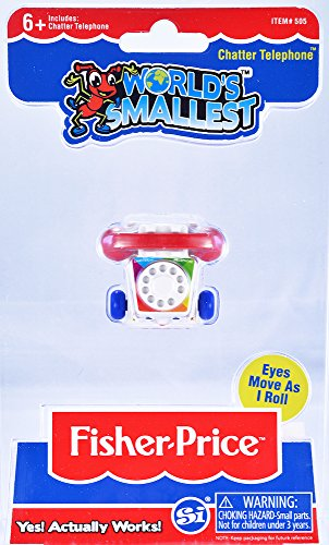 - World's Smallest Fisher Price Classic Chatter Phone