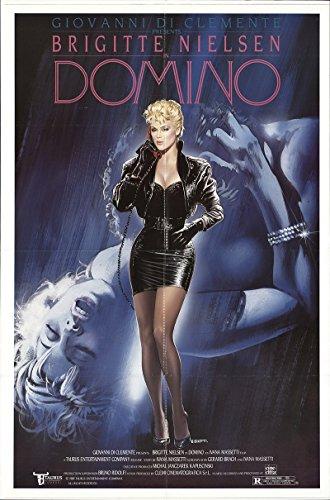 "Private: Domino 1988 Authentic 27"" x 41"" Original Movie Poster Fine Tomas Arana Drama U.S. One Sheet"