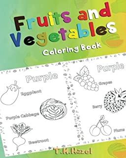 Fruits and Vegetables Coloring Book: Lynda E. Chandler ...