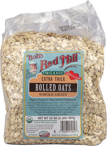 Bob's Red Mill Organic Extra Thick Rolled Oats - 2 lbs