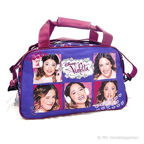 Sporttasche Violetta Collage
