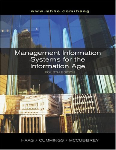 Management Information Systems for the Information Age + MIS Info Age Module + MISource V2 CD + PowerWeb