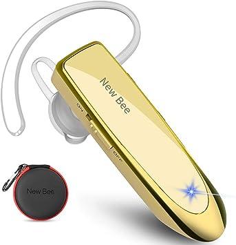 Auriculares Manos Libres, New Bee Auricular Bluetooth Inalámbrico ...
