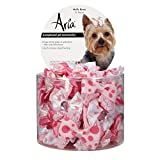Aria Molly Bows for Dogs, 45-Piece Canisters