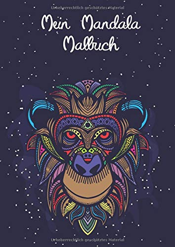 Mein Mandala Malbuch  50 Tierisch Tolle Tiermandalas Für Kinder Ab 8+ Jahren Zum Ausmalen Und Als Kopiervorlage Für PädagogInnen.  Tierisch Tolle Mandalas Band 2