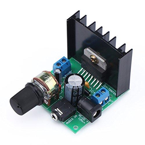 Mini Audio Amplifier Board, DROK Micro Stereo Amplifier