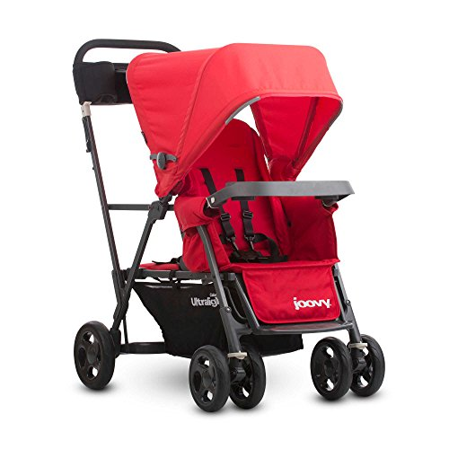 Joovy Caboose Ultralight Graphite Stand-On Tandem Stroller in Red by Generic (Image #1)