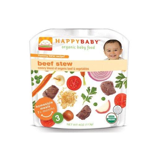HAPPY BABY STG 3,OG2,VEG BEEF MEDLEY, 4 ()