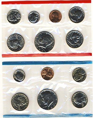 1980 P&D 13 Coin Uncirculated Mint (1980 Mint)
