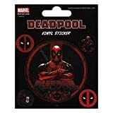 Marvel Comics Vinyl Sticker Pack Deadpool (10) Pyramid International Patches Stickers