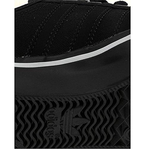 reputable site ccac3 36833 adidas Originals Nizza Lo Junior Black Black White UK 5.5 US 6 EU F 38.2 3  (UK 5.5 US 6 EU F 38.2 3)  Amazon.co.uk  Shoes   Bags