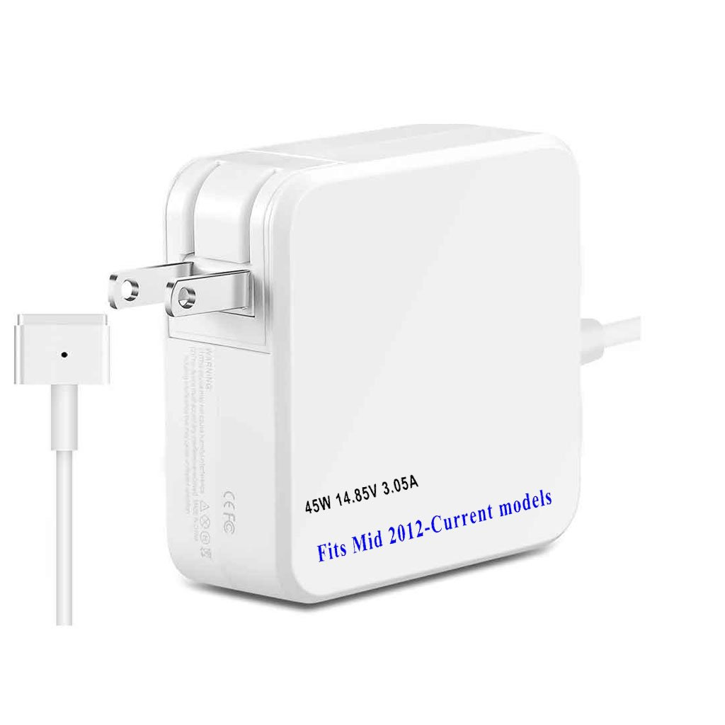 45W Power Adapter for Apple MacBook A1435/A1465/A1436/A1466,11' and 13' with Retina Display (MD592LL/A),Portable Laptop Charger,2013 2014 2015 2016 2017 version (ZA-APPLE-45W-MS2)