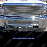 APS Fits 2015-2018 Chevy 2500HD 3500HD Lower Bumper Billet Grille Insert #C66319A