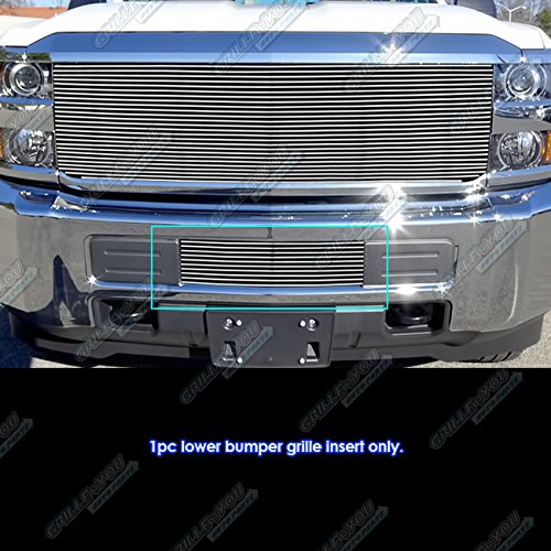 APS Fits 2015-2019 Chevy 2500HD/ 3500HD Lower Bumper Billet Grille Insert #C66319A