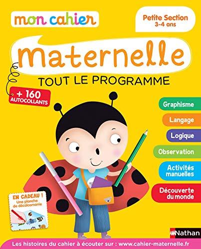 Mon Cahier Maternelle 3 4 Ans Telecharger Lire En Ligne Pdf