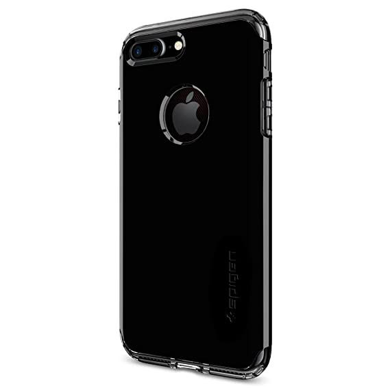 hot sales 5e384 6bb8e Spigen Hybrid Armor iPhone 7 Plus Case with Air Cushion Technology and Drop  Protection for iPhone 7 Plus (2016) - Jet Black