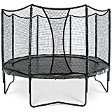 JumpSport AlleyOOP VariableBounce Trampoline with Enclosure | Premier Performance and Safety Features | 12' and 14' Sizes Available