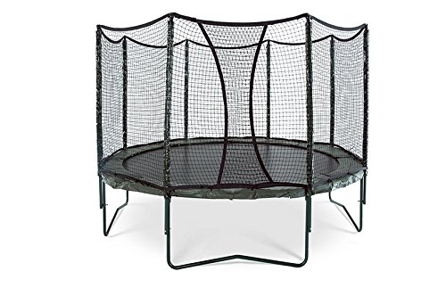 JumpSport AlleyOOP 14' VariableBounce Trampoline with Enclosure |...