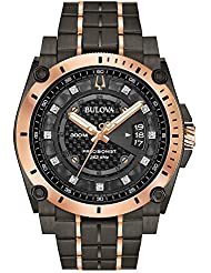 Men's Bulova Champlain Style Precisionist Diamond Watch 98D149