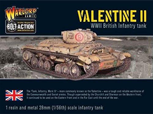 Valentine II Cruiser Tank, Bolt Action Wargaming Miniatures