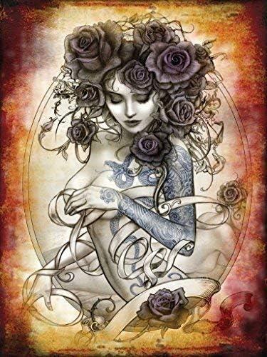 tatuaje Roseta Alquimia Sexy topless mujer con tatuajes Rosas para ...