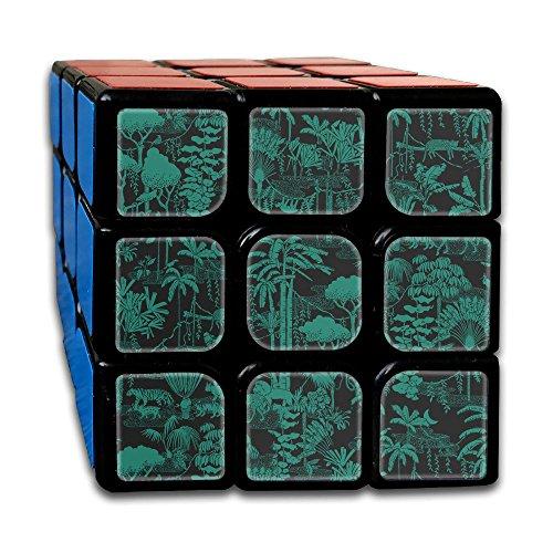 Dark Woods Forest Rubiks Cube Original 3X3 Magic Square 2 1  Third Order Rubik Jigsaw Game Speed Cube Iq Tester Toys Adults Kids
