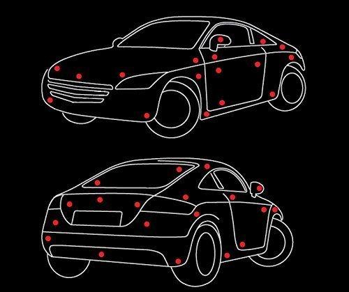 Badge AMG Limited Edition Special highper Forma Fragrance 3D Emblema EuroTool no Frame VT Negro//Cromo//Rojo para Todos los Modelos