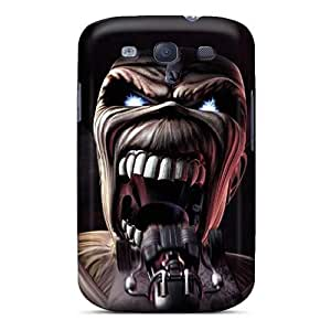 Best Hard Phone Covers For Samsung Galaxy S3 With Allow Personal Design Fashion Iron Maiden Band Image CharlesPoirier