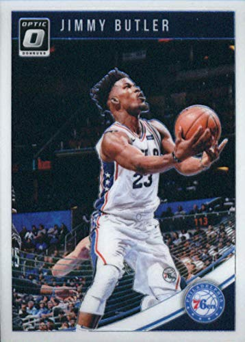 (2018-19 Donruss Optic Basketball #115 Jimmy Butler Philadelphia 76ers Official NBA Trading Card (made by Panini))