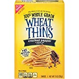 Wheat Thins Cracked Pepper & Olive Oil Crackers, 9 Ounce