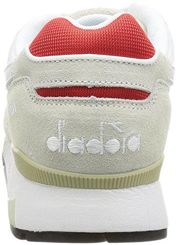 Diadora DIADORA V7000 SAND BRIGHT ROSE Hombre Bianco / Rosso Ferrari Italia