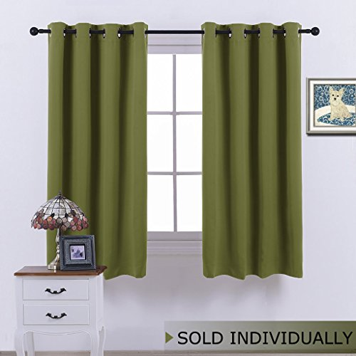 Cheap  NICETOWN Blackout Short Curtain Small Window - (Olive Green Color) Home Decor..