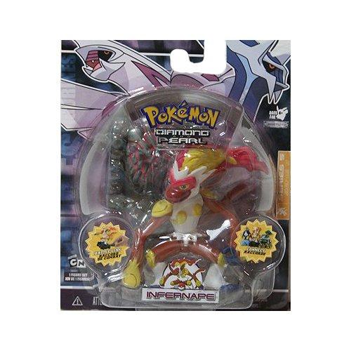 Pokemon Diamond & Pearl Series 5 Basic Figure with Battle Link - Infernape - Munchlax Pokemon Diamond