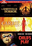 Amityville Horror (1979) / Carrie (1976) / Child's Play (1988)