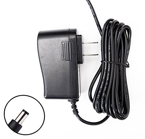 8 Feet Omnihil AC/DC Power Adapter 6V 2A (2000mA) 5.5x2.5millimeters / 5.5x2.1millimeters Compatible with Golds Gym 400Ri