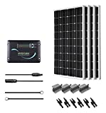 Renogy KIT-RV400D 400W 12V Monocrystalline Solar RV Kit with Adventurer
