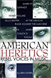 American Heretics, Ben Myers, 1899598235