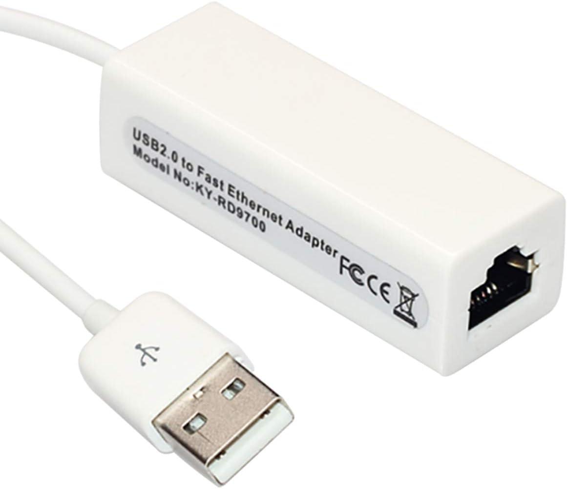 Notebook Mintata2019 USB to Ethernet RJ45 Network Card LAN Adapter 100Mbps for Tablet PC Ultrabook Desktop Computer
