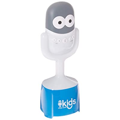 Singing Machine Kids 2 in 1 Portable Bluetooth Speaker with Mic Guy Microphone, 4+ (SMK445): Musical Instruments