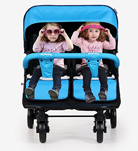 luxury baby stroller for twins,360 baby stroller,landscape baby trolley ,twins stroller,baby strollers double by vory (Image #4)