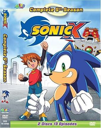 233f5ec4841 Amazon.com  Sonic X - Complete Fifth Season  Tara Jayne