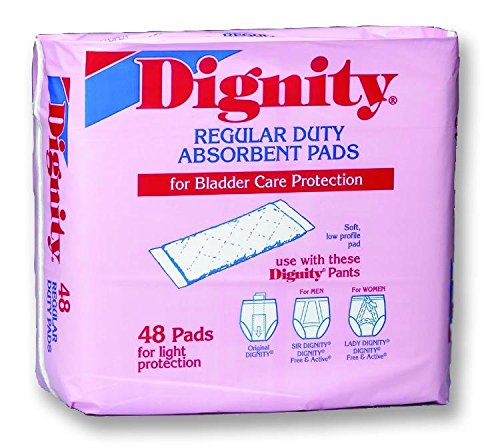 Dignity Regular Duty Pads Case of 384 Dignity Regular Duty Pads