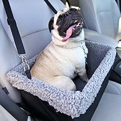 Devoted Doggy Deluxe Dog Booster Car Seat Premium Quality Metal Frame Construction