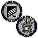 U.S. Navy Rank E-3 White Seaman Challenge Coin